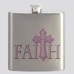 Woman of Faith Flask